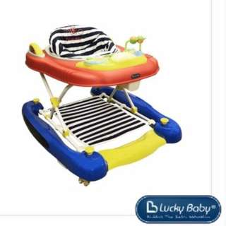 Lucky Baby Hapee™ 3in1 Walker, Rocker, Pusher