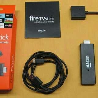 Amazon Fire Tv Stick 2nd Gen With Alexa Voice Control