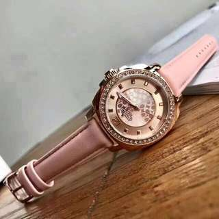 Coach Leather Watch