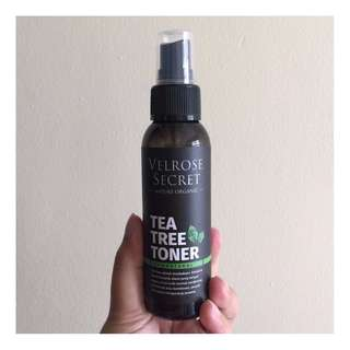 Velrose Secret Nature Organic Tea Tree Toner