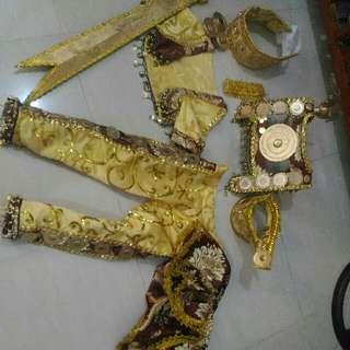 Sultan Kudarat Costume Complete Set