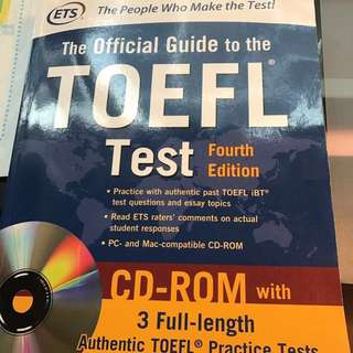 The Official Guide to the TOEFL Test Foruth Edition