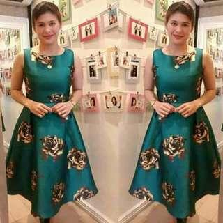 Glam Green Dress