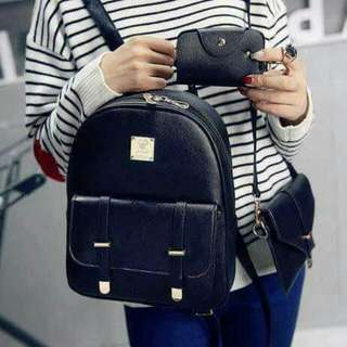 3 In 1 Leather Bag