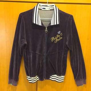 FILA深紫色外套