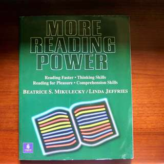 [Used] More Reading Power | By  Beatrice S. Mikulecky & Linda Jeffries
