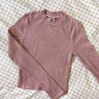 ASOS Striped Crop w/ Long Sleeves