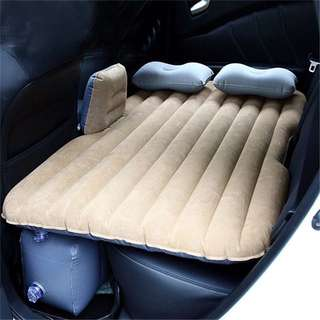 ☠️ CAR TRAVEL INFLATABLE AIR BED CAMPING SLEEP PILLOW