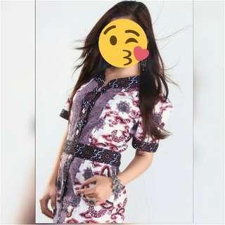 Batik Mega Mendung Beli Di Mall Cirebon 500rb 1kali Like New Bgt Dipakai Pas Foto Studio Jual Rugi