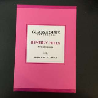 Glasshouse Candle Beverley Hills 350g