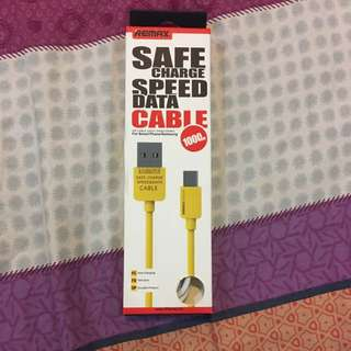 Brand New Remax Speed Data Cable