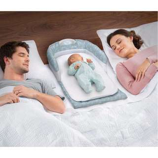 ☠️ BABY SEPARATED BED PORTABLE INFANT SLEEPER
