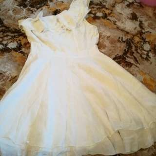 Size 8 Cream Dress