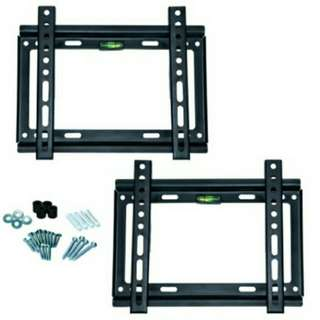 "14""-42"" LCD LED TV Wall Mount Bracket 2 Sets"