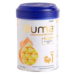 illuma 1 號奶粉 (0-6個月適用)