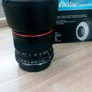 Lensa Vivitar Manual F 1.8 Mm