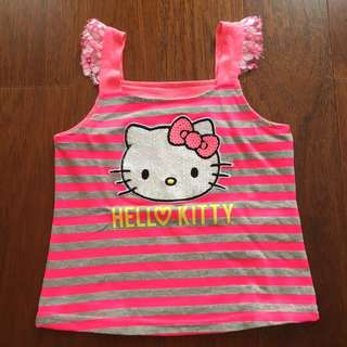 3 Years Girl - Hello Kitty Top