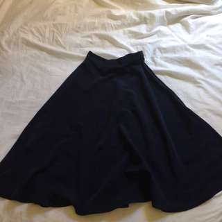 American Apparel midi circle skirt
