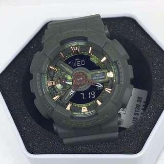 Original Medium Size G-Shock GMAS110CM-3A