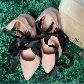 FREE ONGKIR SeIndonesia Sepatu / Gladiator High Heels Shoes Something Borrowed Original Free Gift / Kerudung/ Hijab