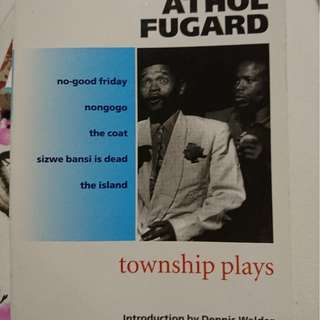 Athol Fugard township plays