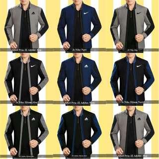 blazer pria berkulitas murah- jaket pria -jas cowok keren- jaket jz adidas & jaket jz nike