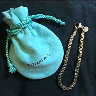 Tiffany 手鍊 925純銀 全新