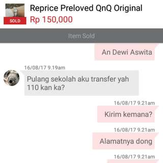 TRUSTED ! Thankyou #modugalovers