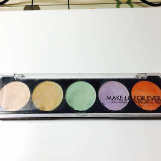 Make Up For Ever五色遮瑕盤