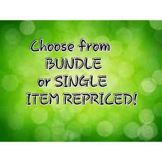 ALL ITEM REPRICED!! #lovebundled #bags #kids #pink #preloved #barbie #repriced #cheap #dress #pants #blouse #gown #swap #gluta #hair #makeup #offshoulder #croptop #skirt #trending #mac #brush #lipstick #wedge #shoes #shorts #camera #instax