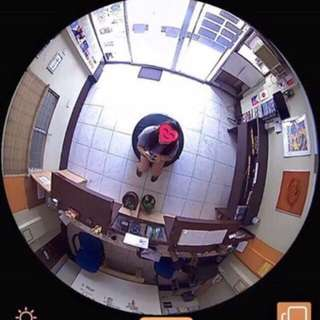 Light bulb Cctv camera