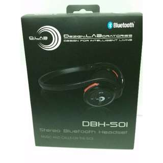 D.Lab DBH-501 Stereo Bluetooth Headset