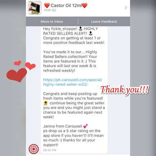THANK YOU FOR TRUSTING US! ❤️