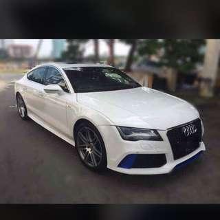 Audi A7 convert RS7