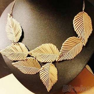 BN Fall Leaves Necklace