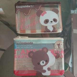 可愛熊貓散紙包