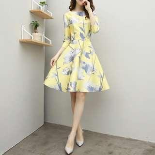 BNIP Korean Work Dress