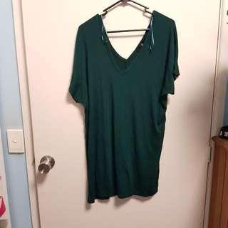 Boohoo T-shirt Dress Size M