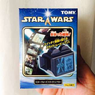 Star Wars TOMY Japan Candy Slide Theater Film 3D Viewer (D. Episode 6)