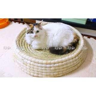 108[[鏟屎官聽令]]貓主子最愛兼具貓抓板的手工貓窩
