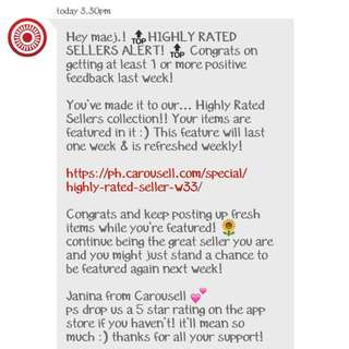 Highly rated seller AGAIN!! 😵😝 Thankyou for trusting me 🙏💋💋