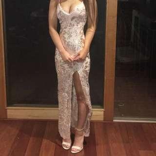 stunning sequin formal dress
