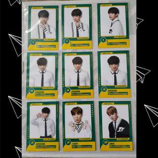 BTS 3rd Muster Player Cards