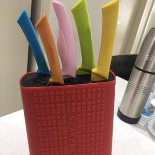 Scanpan knives block set