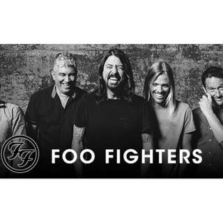 Discounted Foo Fighters ticket (save $42)