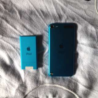 Ipod nano and Ipod touch