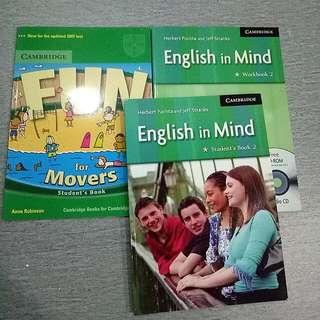 Cambridge Workbook Student's Book, English In Mind
