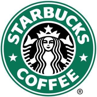 Buying Starbucks Coffee Bean Receipt
