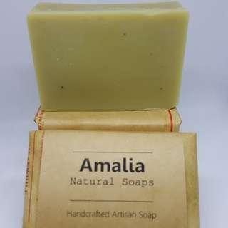 AMALIA Moringa VCO Skin-nourishing Soap