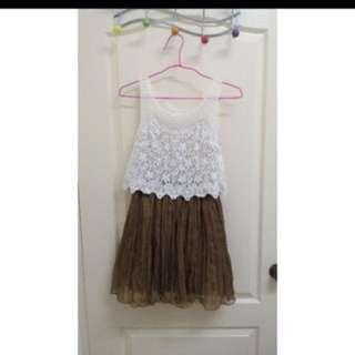 🚚 snidel 拼紗 洋裝